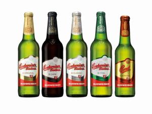 Nový design obalů produktů pivovaru Budějovický Budvar