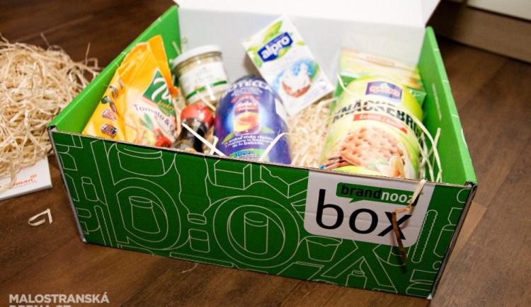 Tajemná zásilka potravin na váš stůl.  Máte chuť objevovat nové chutě?