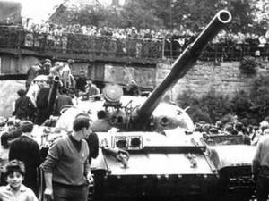 - Intervence vojsk Varšavské smlouvy do Československa v srpnu1968