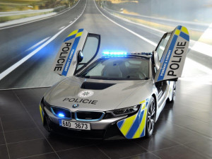 Předání vozu BMW i8 Policii České republiky