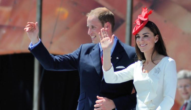Princ William a vévodkyně Kate čekají třetí dítě
