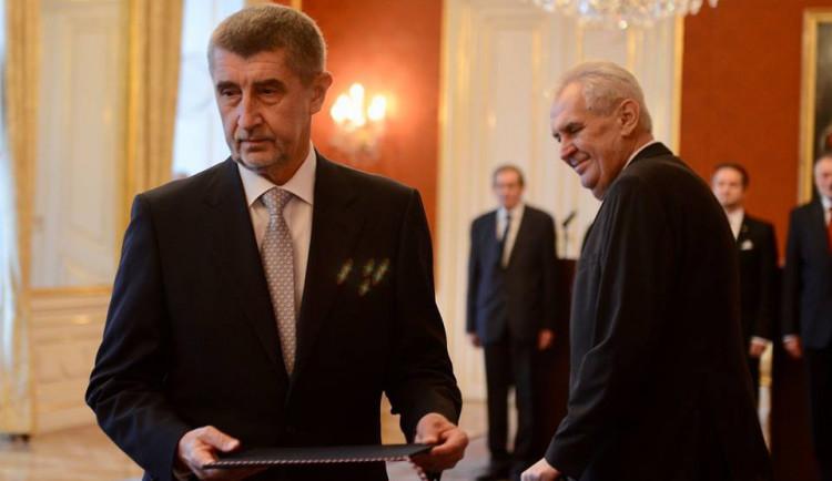 Prezident Zeman přijme v neděli v Lánech Babiše