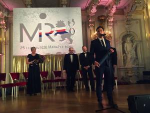 Ocenění Manažer roku převzal na Pražském hradě mladý Jihočech. Cenu dostal za inovace a baterie.