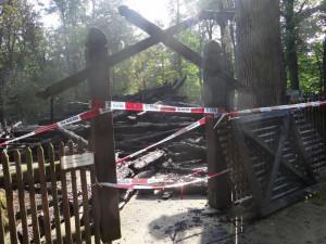 Mladík, který zapálil kostel v Gutech, rád pozoruje plameny