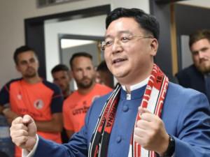 Prezident CEFC Chan Chauto.