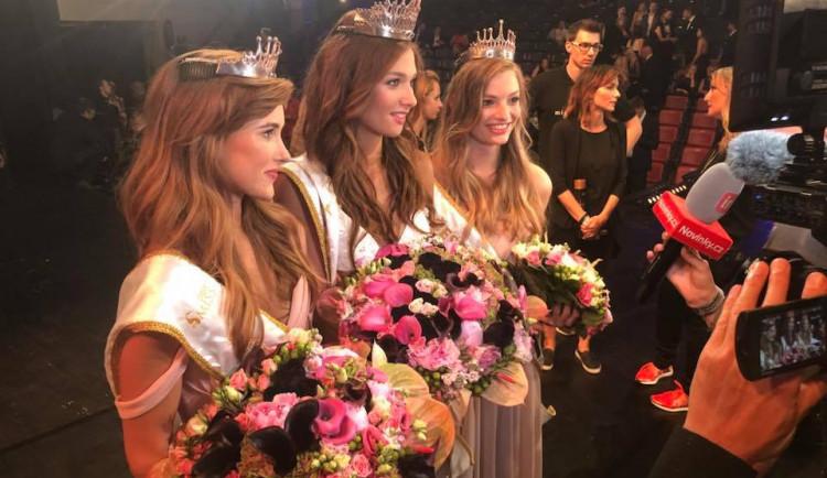 Vítězkou soutěže Česká Miss se v Ostravě stala Lea Šteflíčková