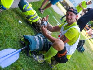FOTO: Rekord extrémně náročného závodu Trek and Down padl. Překonali ho Kočvar a Jůza