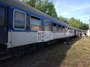 Na festival pro krajany v Banátu odjel téměř půlkilometrový vlak