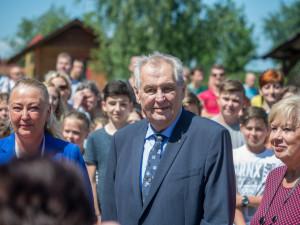 ilustrační foto, Miloše Zemana.