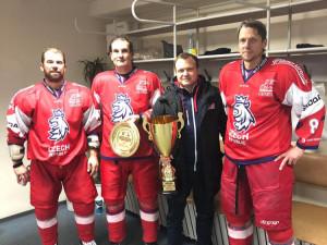 Čeští hokejisté si zahráli proti Tatarstánu, do zápasu nastoupil i prezident.