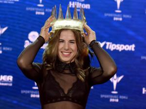 Ledecká s rekordním náskokem vyhrála anketu Sportovec roku