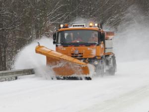 Nejvíce sněhu napadlo na Šumavě, v Praze byla bouřka
