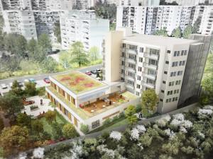 VIZUALIZACE: Brněnští senioři se v Domově Kosmonautů mohou těšit na novou terasu a komunitní sál