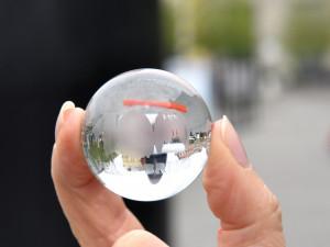 Speciální kulička připomínající 100 let od vzniku Velkého Brna.