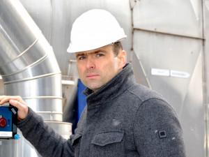 """Odkládání zákazu skládkování? Jde o plýtvání """"surovinou"""", kterou můžeme využívat, říká předseda představenstva teplárny Václav Král."""