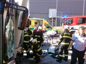 Řidička havarovaného trolejbusu v Budějcích měla mít v krvi alkohol