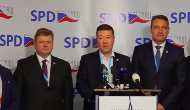 SPD zopakovala nabídku podpory vlády odborníků sestavenou ANO