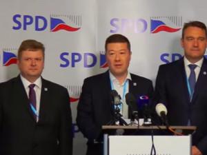 SPD zopakovala nabídku podpory vlády odborníků sestavenou ANO.
