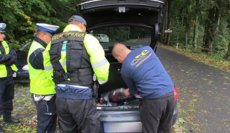 Policie nacvičuje znovuzavedení hranice mezi Českem a Slovenskem