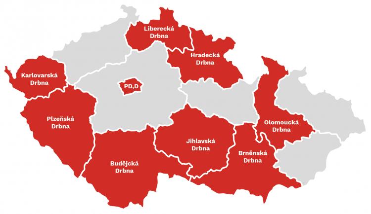 Drbna obsadila další město. Svou redakci má také Praha