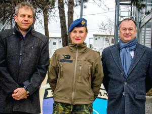 Česká velitelka z Kosova: Velet klukům mi nedělalo problém