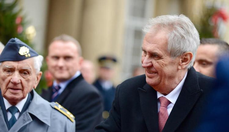 Prezident Miloš Zeman udělil dvě milosti