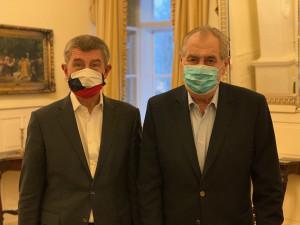 Prezident Zeman kritizoval opozici, Kalouska označil za šaška