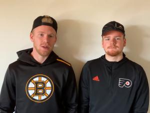 Kaše a Kaše. Hokejisté z NHL radí, jak si doma správně zacvičit