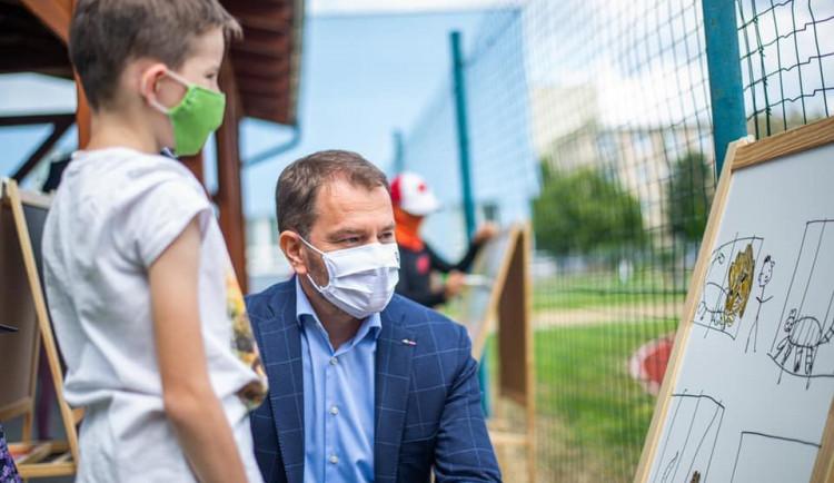 Slovenský premiér Matovič přijíždí na první návštěvu Prahy