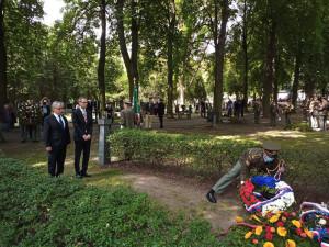 Hrdinství není kýč, zaznělo na pietní akci za Horákovou
