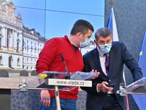 Vicepremiér Jan Hamáček se nakazil koronavirem