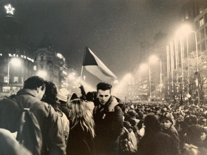 FOTOGALERIE: Nikdo nevěděl, jak to bude dál, říká účastník a autor fotek z listopadu 1989