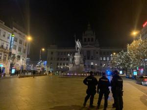 Pražská policie na přelomu roku řešila 269 oznámení, méně než loni