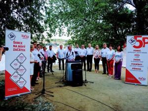 Komunisté zahájili sněmovní kampaň se sloganem Šance na nový začátek
