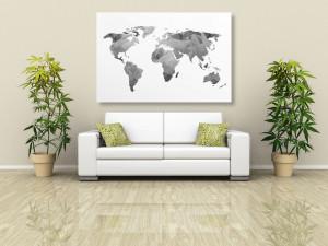 Mapa světa do každé domácnosti. Odhalujte svět z pohodlí domova
